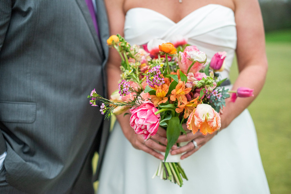 Bridal bouquet by Carolina Flowers at Connestee Falls wedding