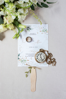 Bride and groom details at Claxton Farm in Weaverville, near Asheville, NC
