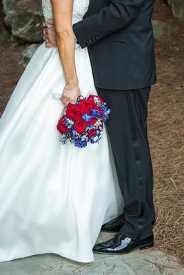 at wedding at Omni Grove Park Inn Seely Pavilion