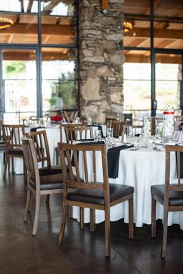 Seely pavilion reception at wedding at Omni Grove Park Inn