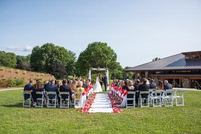 Wedding at Omni Grove Park Inn Seely Pavilion