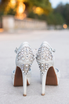 biltmore bride shoes with ring