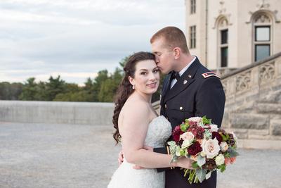 biltmore wedding couple tori and matt