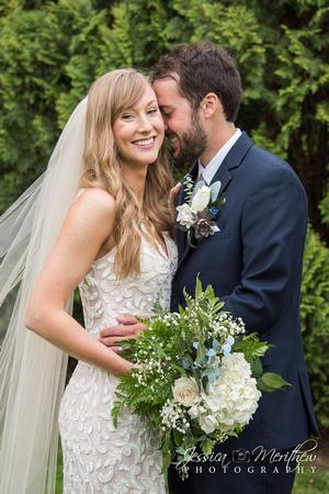 lace dress bridal photo roan mountain state park wedding