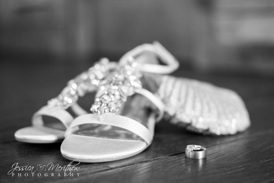 wedding shoes purse and rings roan mountain state park wedding
