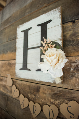 country wedding decor