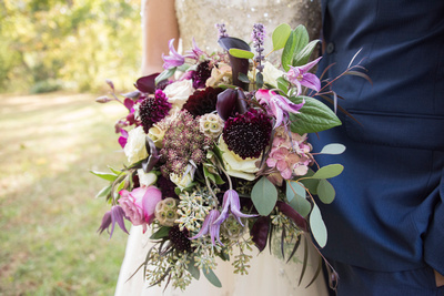 Browns floral design bouquet at Bull Creek Ranch