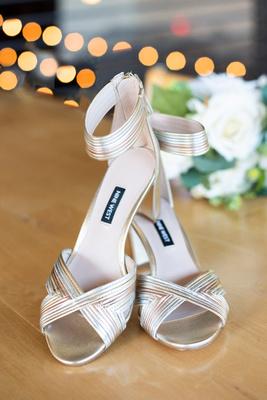 Nine West wedding heels at Highland Brewing Wedding in Asheville