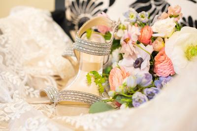 Bridal details at Hawkesdene