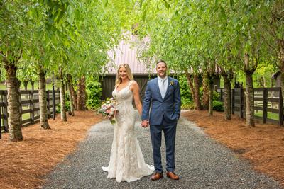 Hawkesdene wedding portrait