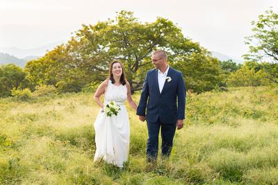 Craggy Gardens wedding photography in Asheville