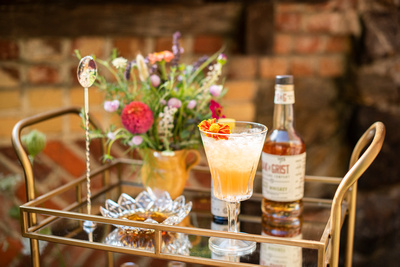 Featured wedding cocktail at The Ellington House in Asheville