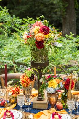 Florals at The Ellington House by Oakleaf Garden