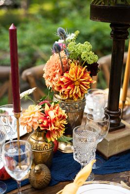 Florals by Oakleaf Garden in Asheville at The Ellington House