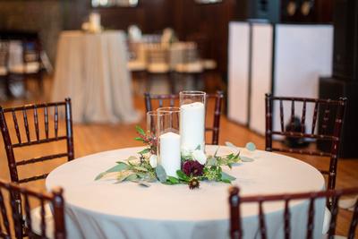 Asheville wedding at Homewood table setting