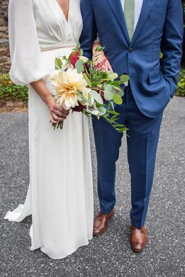 Asheville wedding photographer bride and groom details at Homewood