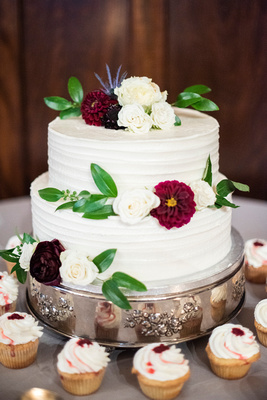 Homewood wedding cake by Short Street Cakes in Asheville
