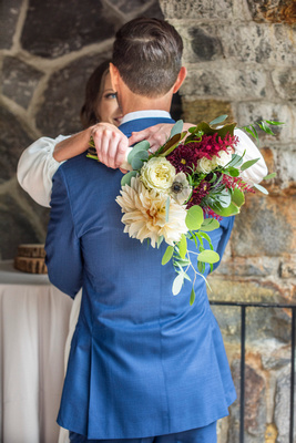 Wedding bouquet at Homewood by Carolina Love Events in Asheville