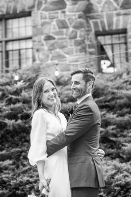 Wedding portrait at Homewood in Asheville