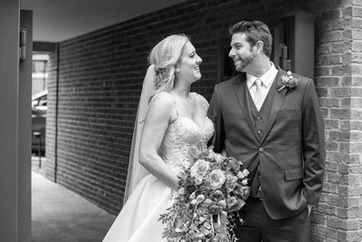 Fall wedding at The Foundry in Asheville