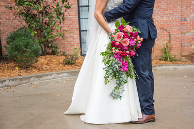 The Foundry in Asheville fall wedding photos