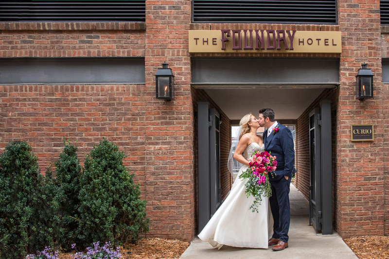 The Foundry wedding in Asheville