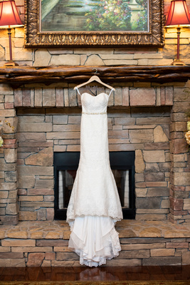 Allure wedding gown from Savvy Bridals at The Lodge at Flat Rock near Asheville