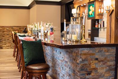 The Shamrock Room bar area in Brevard