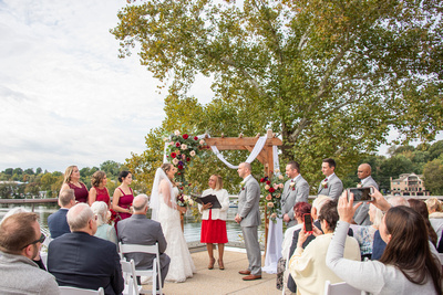 Unplugged Wedding Ceremony Photo