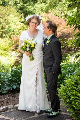 Summer wedding photos at The Esmeralda Inn Chimney Rock