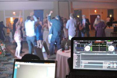 Mohr Fun Events wedding DJ near Asheville