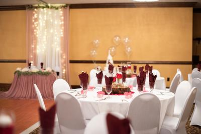 The Lodge at Flat Rock wedding reception