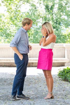 Surprise proposal at Biltmore Estate