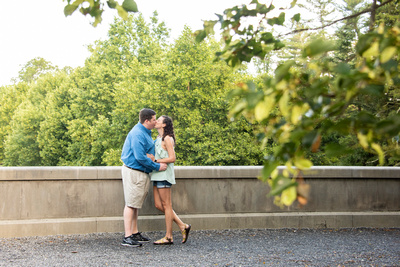 Asheville photography at Biltmore for engagement